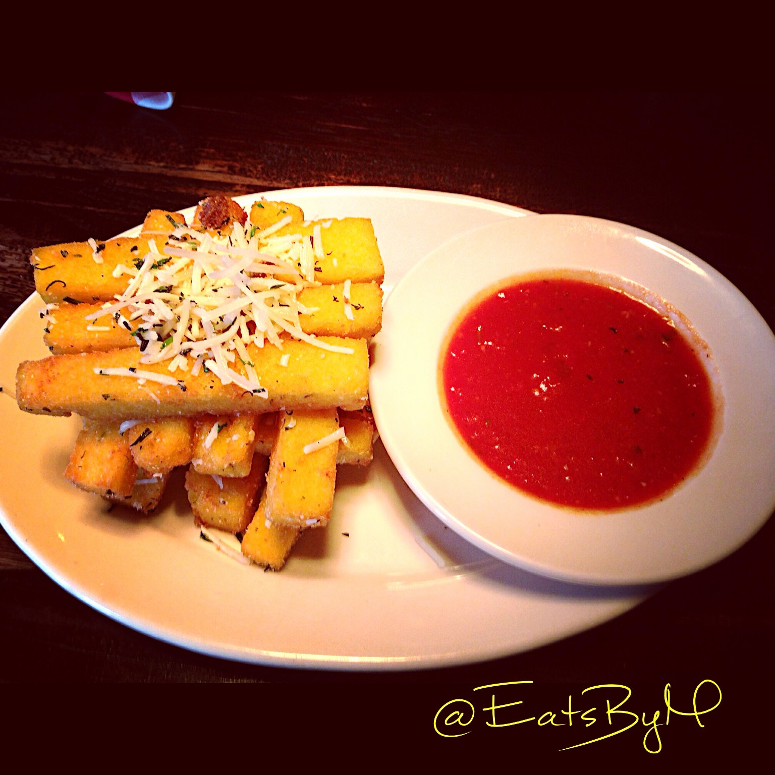 "Herbed Polenta ""Fries Recipes — Dishmaps"